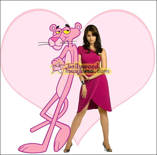 pink panther pictures. Rai with The Pink Panther