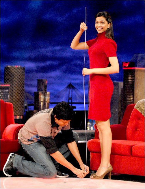 The episode travels from Chandni Chowk To China with Deepika Padukone