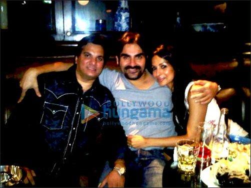 Lalit Pandit, Arbaaz Khan, Malaika Arora Khan