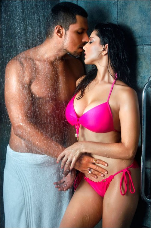 Randeep Hooda and Sunny Leone