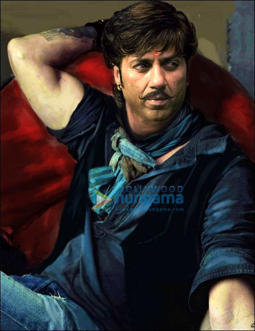 check out sunny deols look in bhaiyyaji superhit