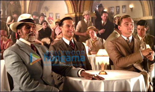Amitabh Bachchan Leonardo Di Caprio and Tobey Maguire in The Great Gatsby