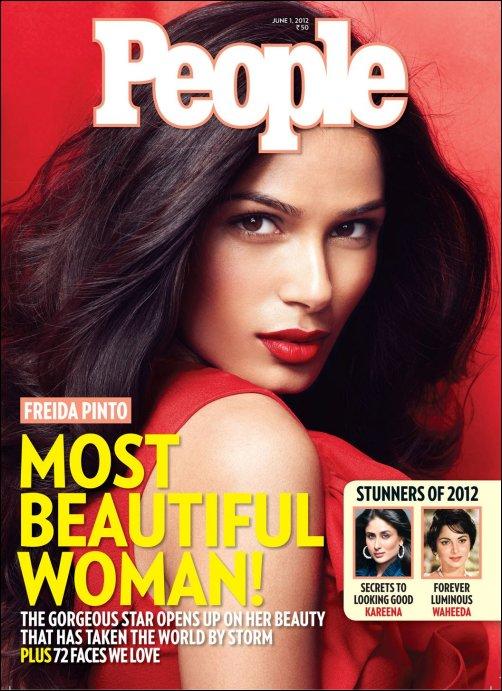 Freida Pinto named as Indias Most Beautiful