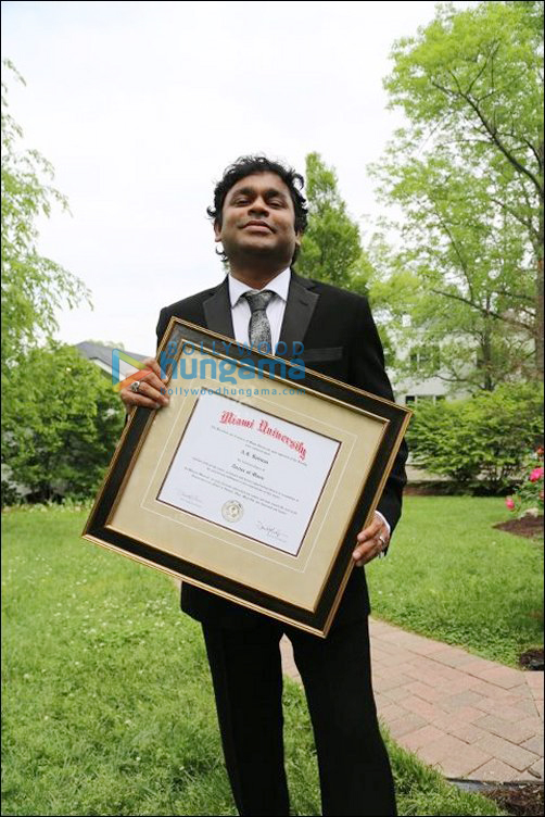 Rahman gets doctorate from Miami University