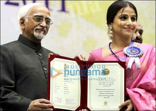 Vidya Balan receives National Award