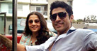 Farhan, Vidya shoot for Shaadi Ke Side Effects