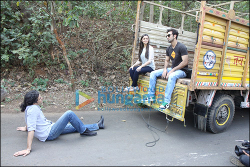 Check out Ranbirs special gesture for Highway