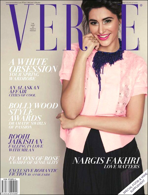 Check out Nargis on the cover of Verve