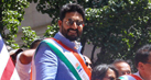 Abhishek Bachchan participates in the 36th India Day Parade in New York