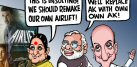 Bollywood Toons: Govt not happy with Akshay Kumar's Airlift!