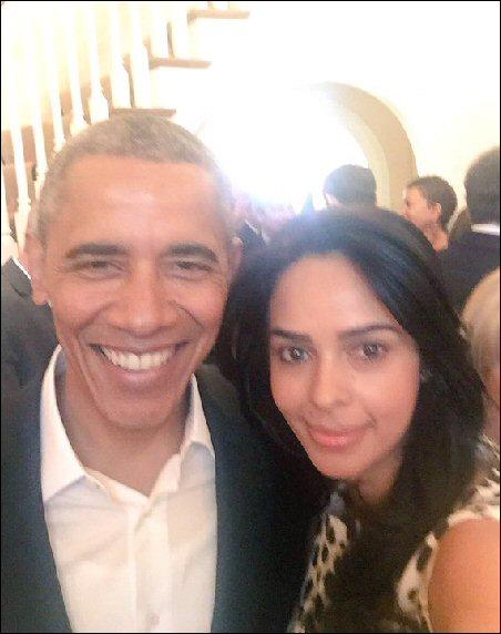 Check out: Mallika Sherawat meets President Barack Obama again