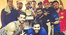 Check out: Ranbir Kapoor poses with his team after winning the charity football match