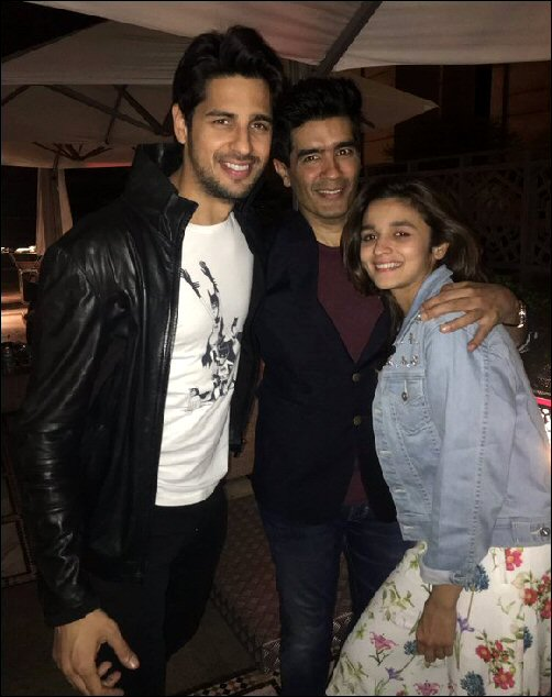 Check out: Alia Bhatt celebrates birthday with Sidharth ...  Check out: Alia...