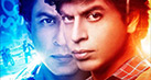 Fan was not the first film where Shah Rukh Khan plays the idolized star�Nor the last