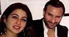 Saif Ali Khan and daughter Sara Khan bond over dinner