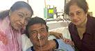 Asha Bhosle visits ailing Anu Malik in the hospital
