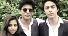 Shah Rukh Khan joins son Aryan Khan on his graduation day