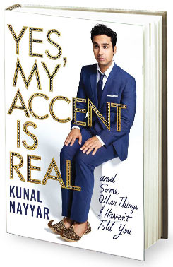 Book review - Kunal Nayyars Yes My Accent Is Real