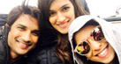 Check out: Kriti Sanon and Sushant Singh Rajput on sets of Raabta