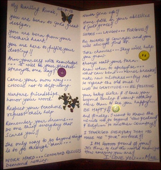 Sushmita Sen Shares An Old Letter She Wrote For Her