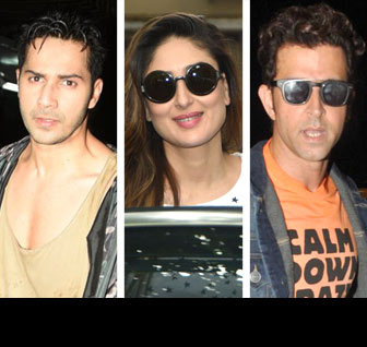 What Bollywood stars did this week!