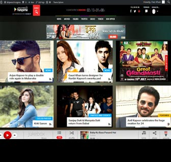 Check out the new look of Bollywood Hungama (BETA)
