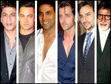 SRK, Aamir, Akshay, Hrithik, Saif, Amitabh