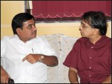 R. R. Patil, Ananth Mahadevan