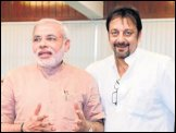 Narendra Modi, Sanjay Dutt