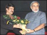 Narendra Modi visits Cinemax Ahmedabad